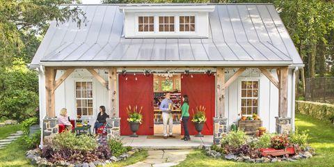 Plant, Window, Property, House, Door, Garden, Shrub, Home, Real estate, Roof,