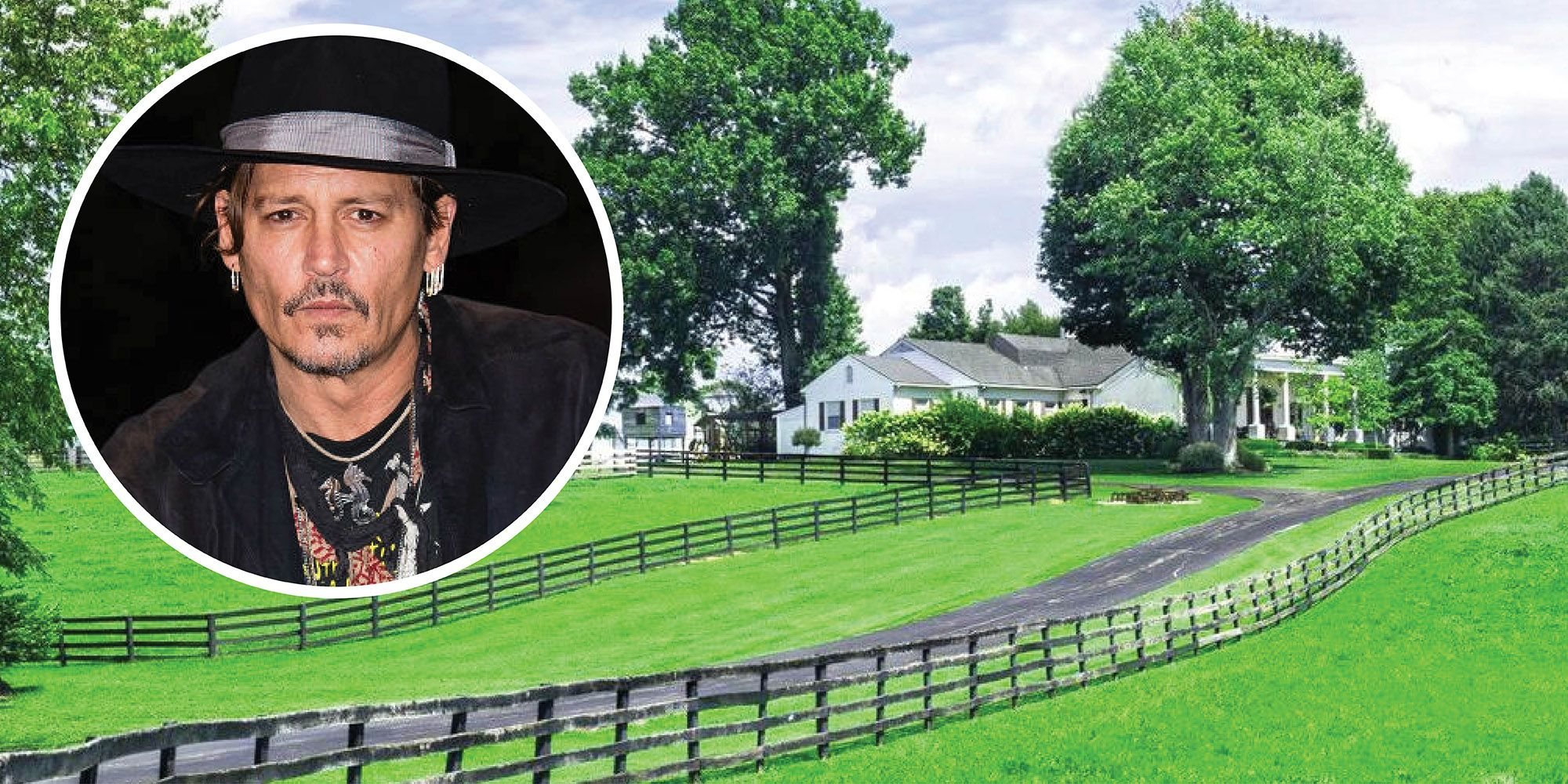 See Inside The 3 Million Kentucky Horse Farm Johnny Depp Bought For His Late Mom Johnny Depp S Southern Estate For Sale