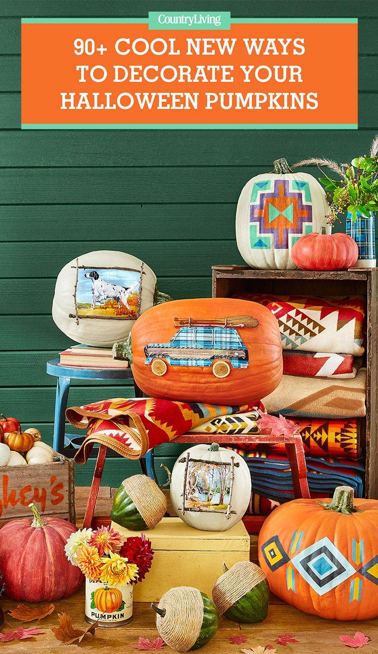 88 Cool Pumpkin Decorating Ideas - Easy Halloween Pumpkin ...
