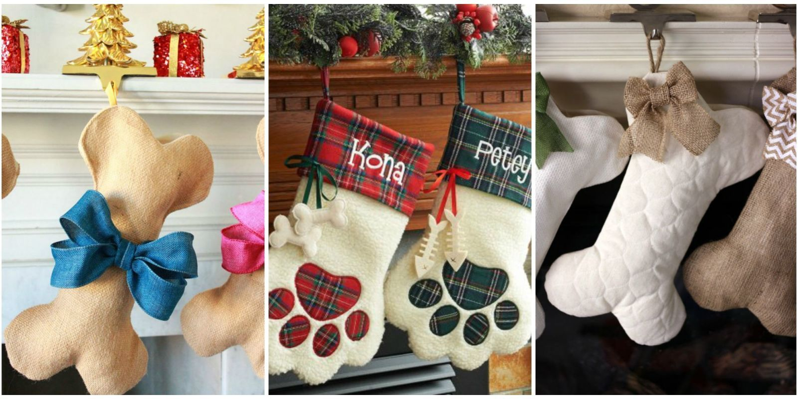 You Have A Christmas Stocking For Every Other Family Member, So Why Not The  Furry Ones, Too? Customize These Stockings For Dogs With Your Four Legged  ...