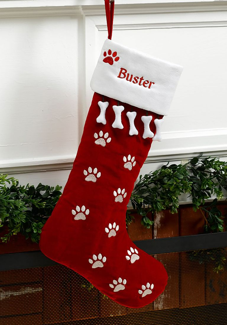 12 Best Dog Christmas Stocking Ideas - Cute Personalized ...