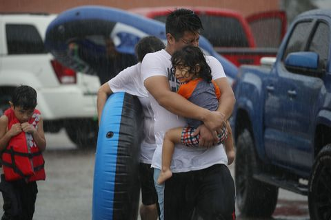 Destruction caused by Harvey in Texas