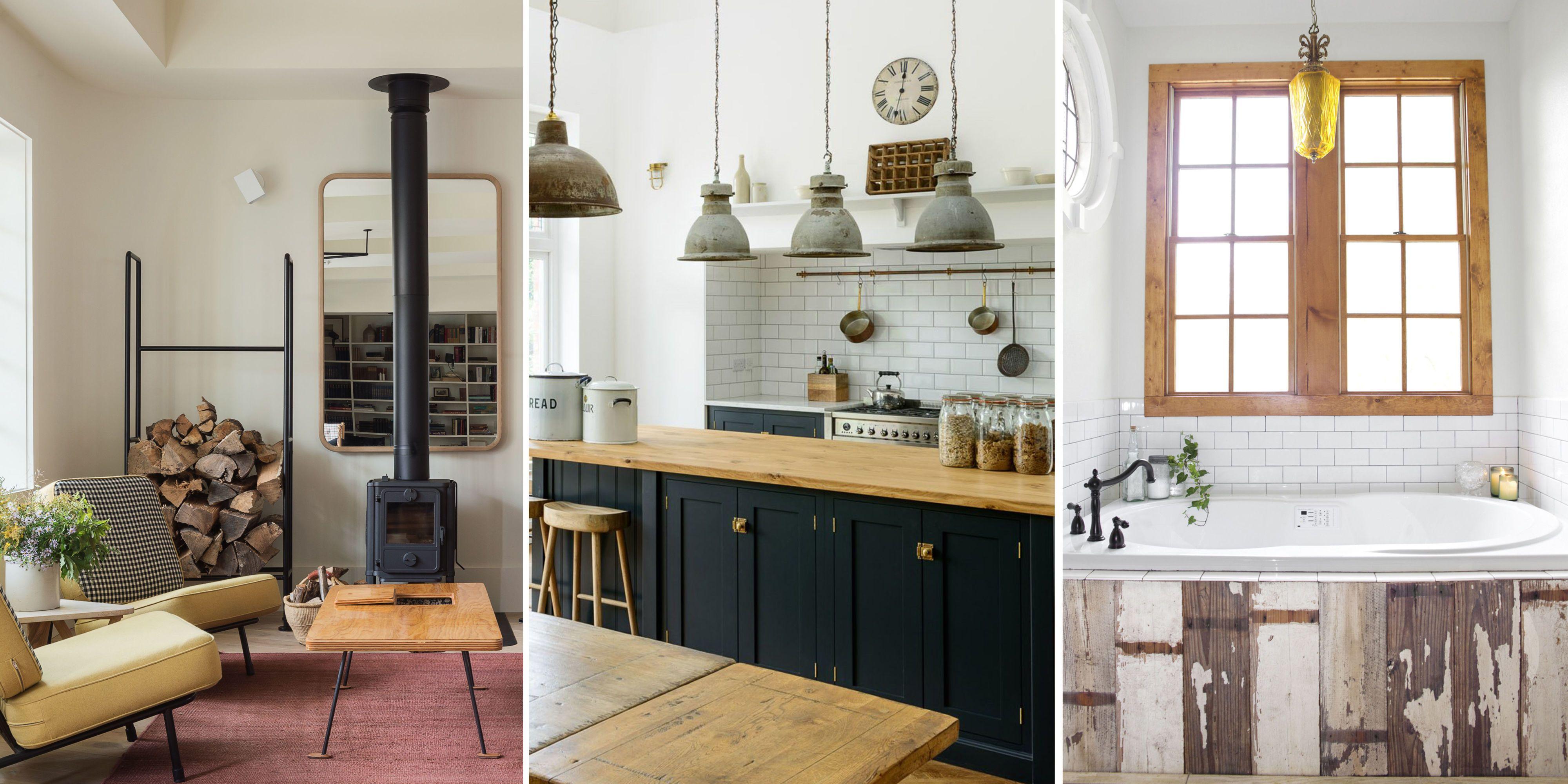 Matthew Williams/deVOL Kitchens/Touchstone & 10 Modern Rustic Decor Ideas - These Modern Rustic Rooms Prove You ...