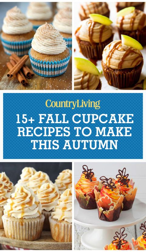 18 Best Fall Flavored Cupcakes And Decorating Ideas Recipes For