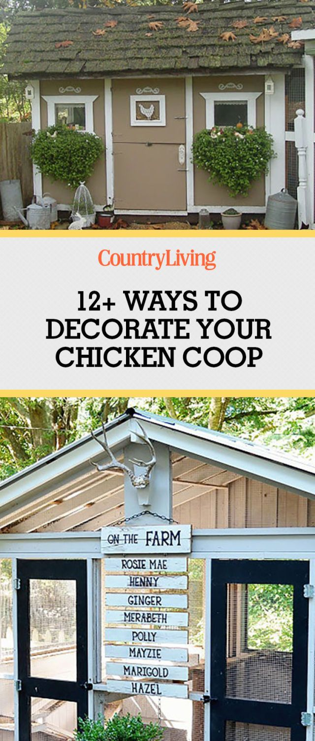 Chicken Crate Decorating Ideas