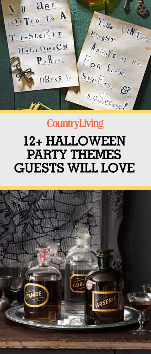 best halloween party themes for adults and kids