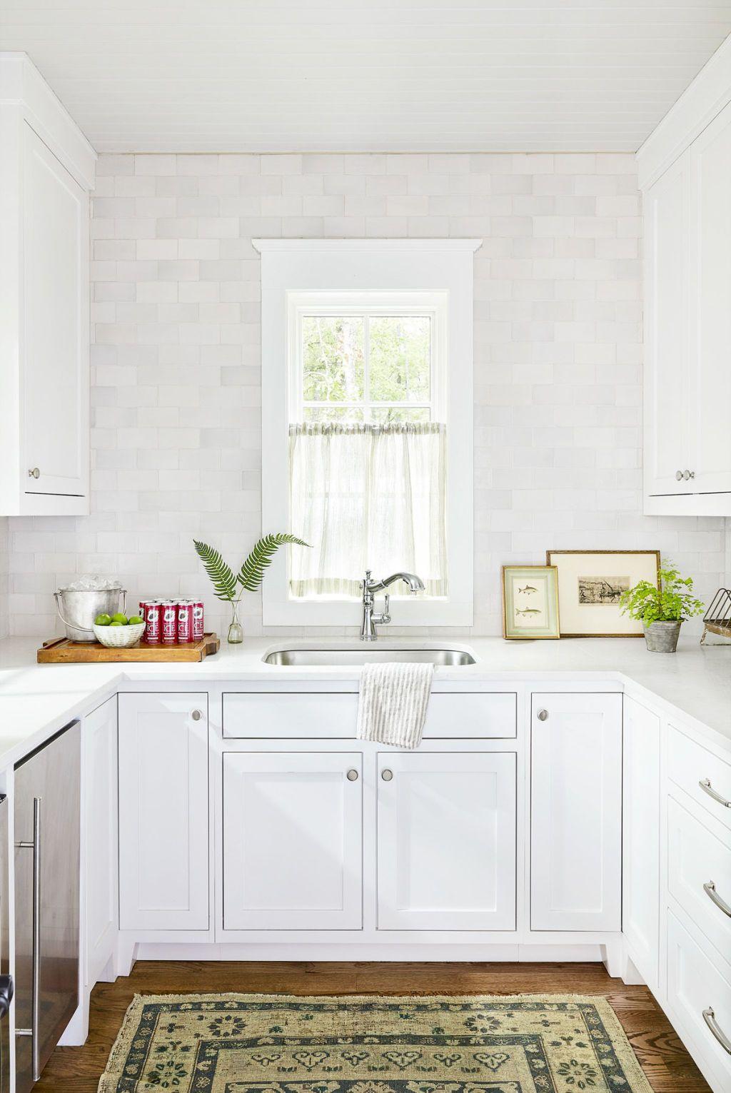image & 24 Best White Kitchens - Pictures of White Kitchen Design Ideas