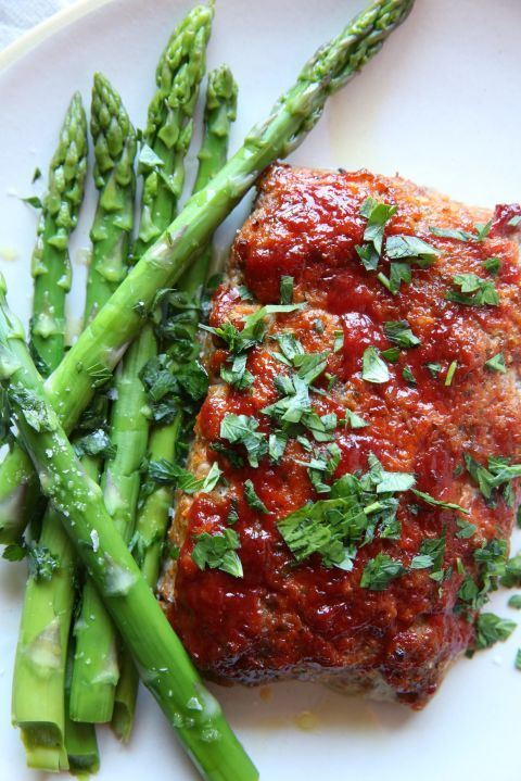 Dish, Food, Cuisine, Asparagus, Ingredient, Meat, Produce, Recipe, Asparagus, Gremolata,