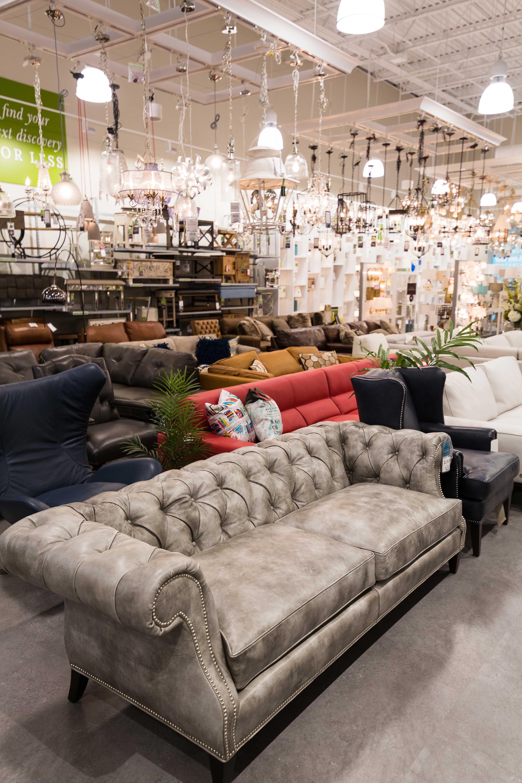 Homesense furniture section