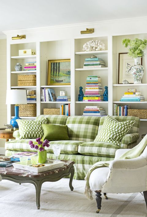 Decorating with green 43 ideas for green rooms and home - Green living room ideas decorating ...