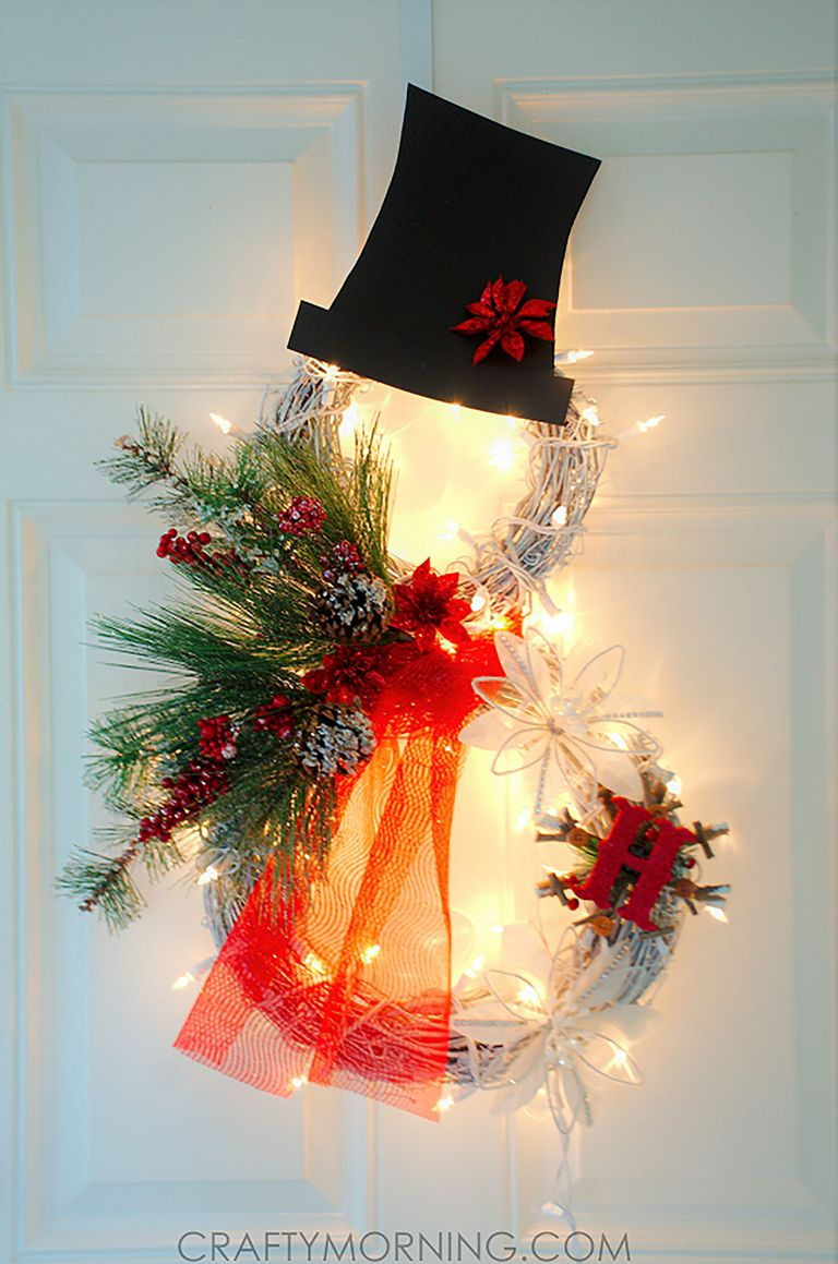 30 Easy Christmas Crafts for Adults to Make - DIY Ideas ...