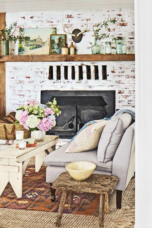 Groovy 40 Fireplace Design Ideas Fireplace Mantel Decorating Ideas Home Interior And Landscaping Eliaenasavecom