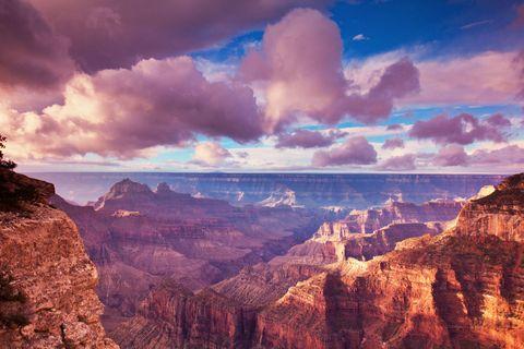 Sky, Nature, Badlands, Natural landscape, Canyon, Cloud, Mountainous landforms, Formation, National park, Rock,