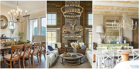 12 Rustic Chandelier Ideas - Best Country Farmhouse Chandeliers