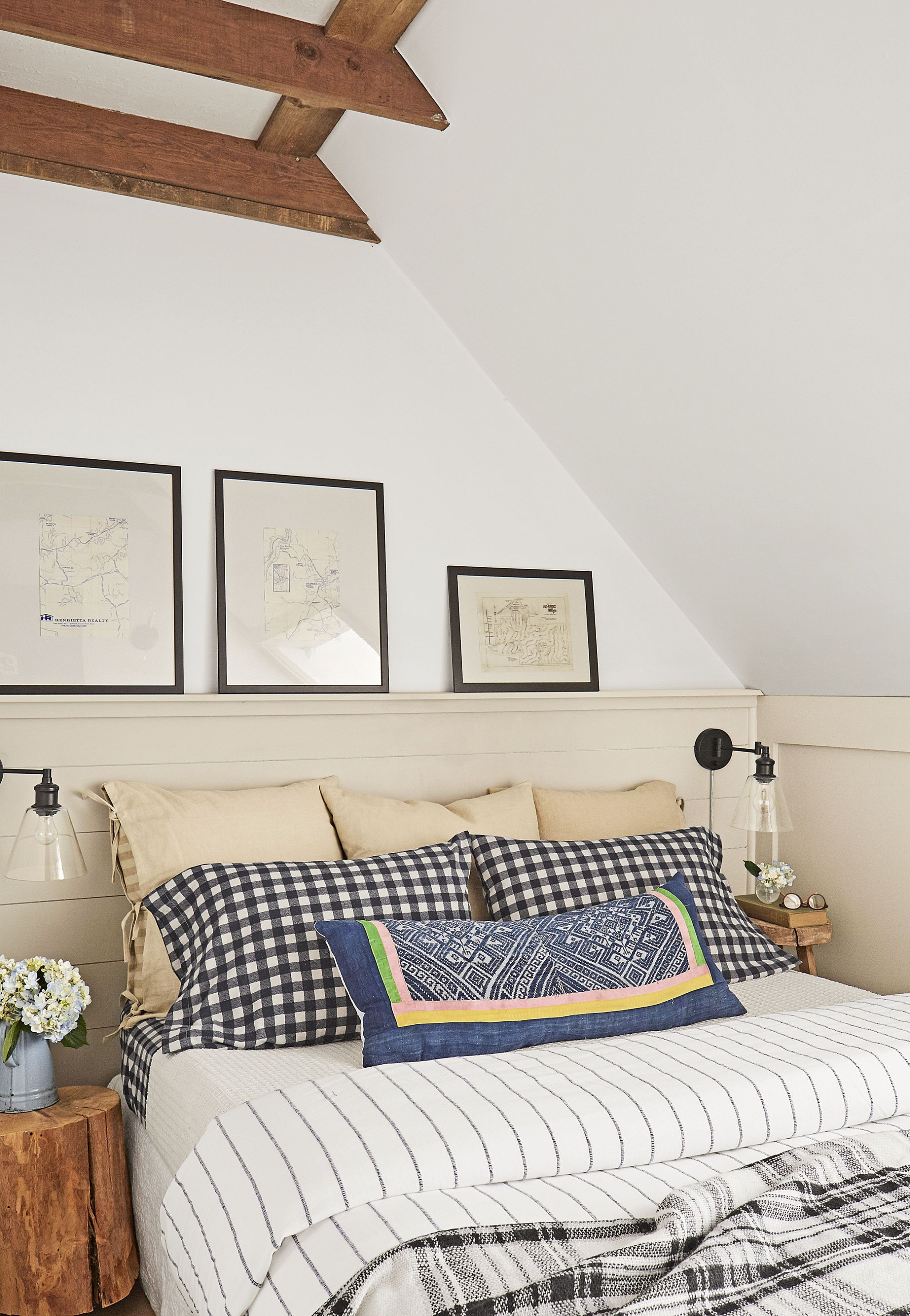 surprising Second Bedroom Decorating Ideas Part - 12: Country Living Magazine