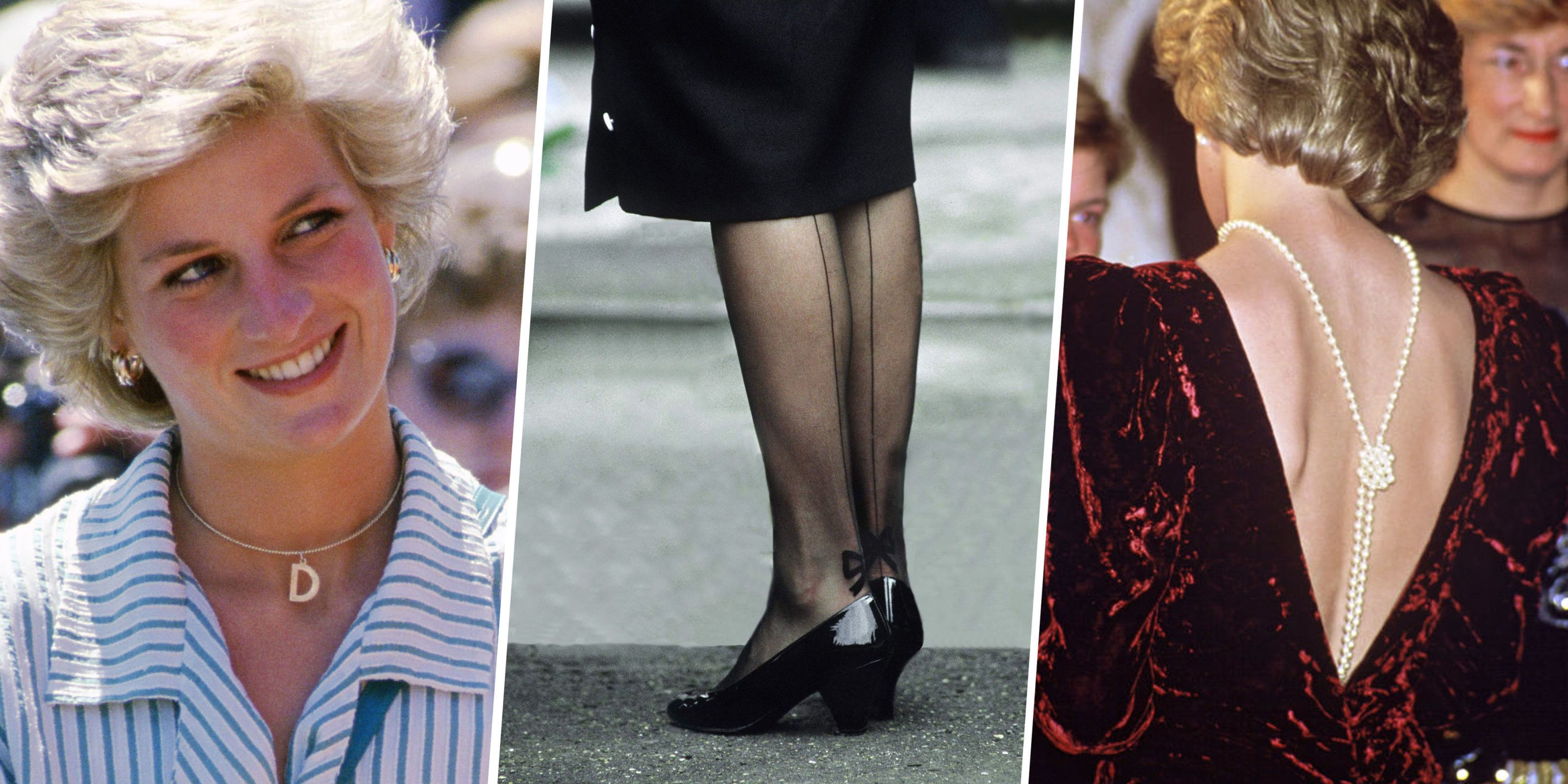 Blue Eyeliner, Sentimental Jewelry and Statement Stockings: The Diana Style Secrets You Never Noticed