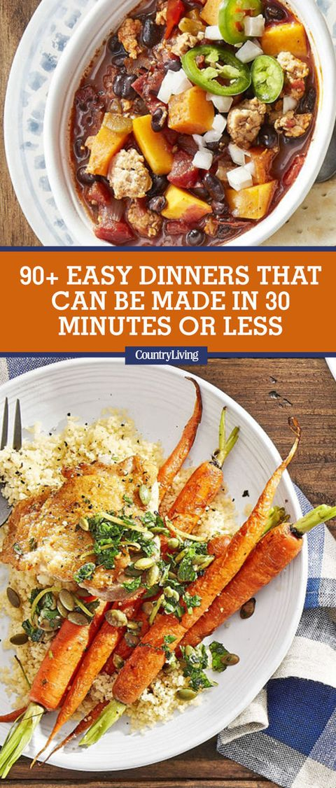 Best Recipes For 30 Minute Meals