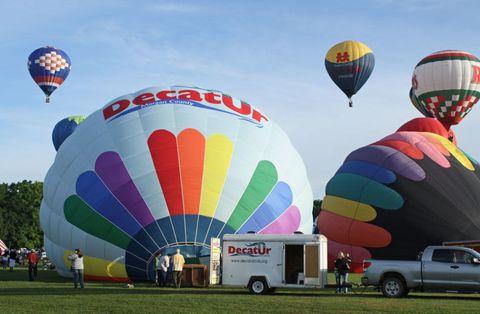Alabama Jubilee hot air balloon festival