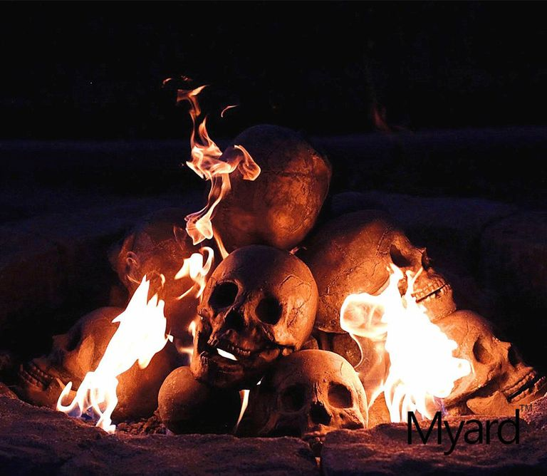 You Need These Skull Shaped Logs For Your Halloween