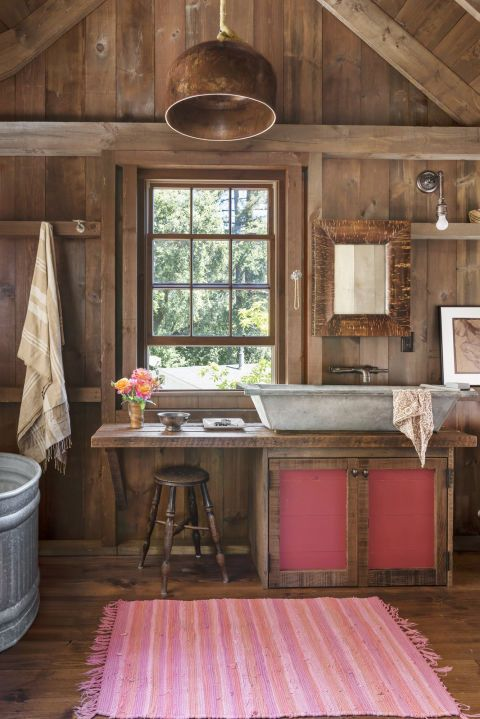 37 Rustic Bathroom Decor Ideas Rustic Modern Bathroom