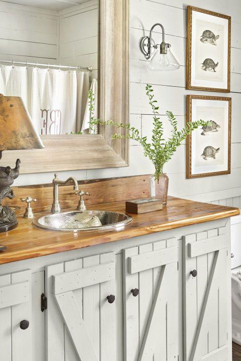 rustic green bathroom design ideas | 47 Rustic Bathroom Decor Ideas - Rustic Modern Bathroom ...