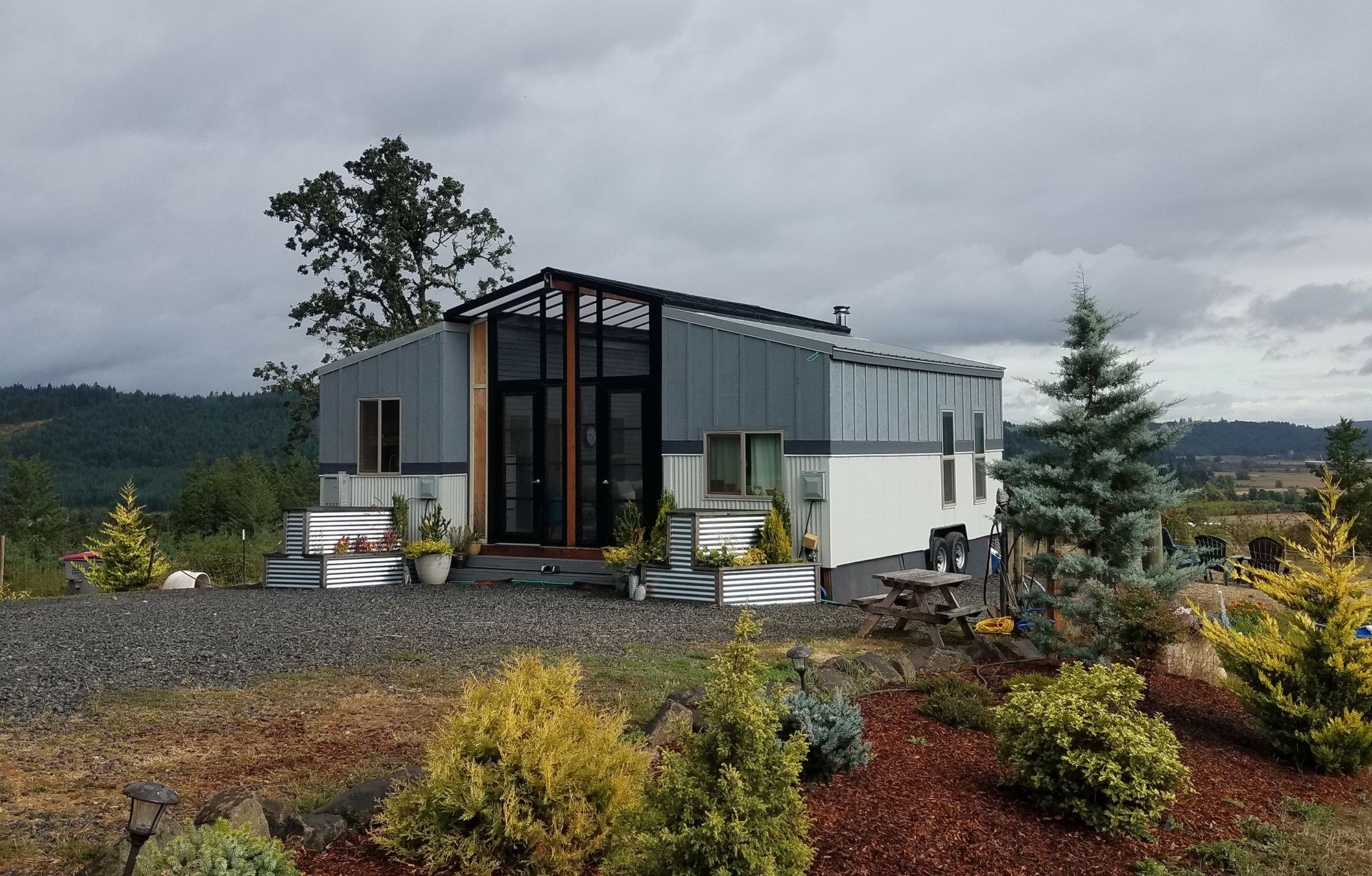 Tiny houses for sale on amazon prefab homes and cabin kits on amazon 2 tiny houses and a sunroom combine to fit family jeuxipadfo Image collections