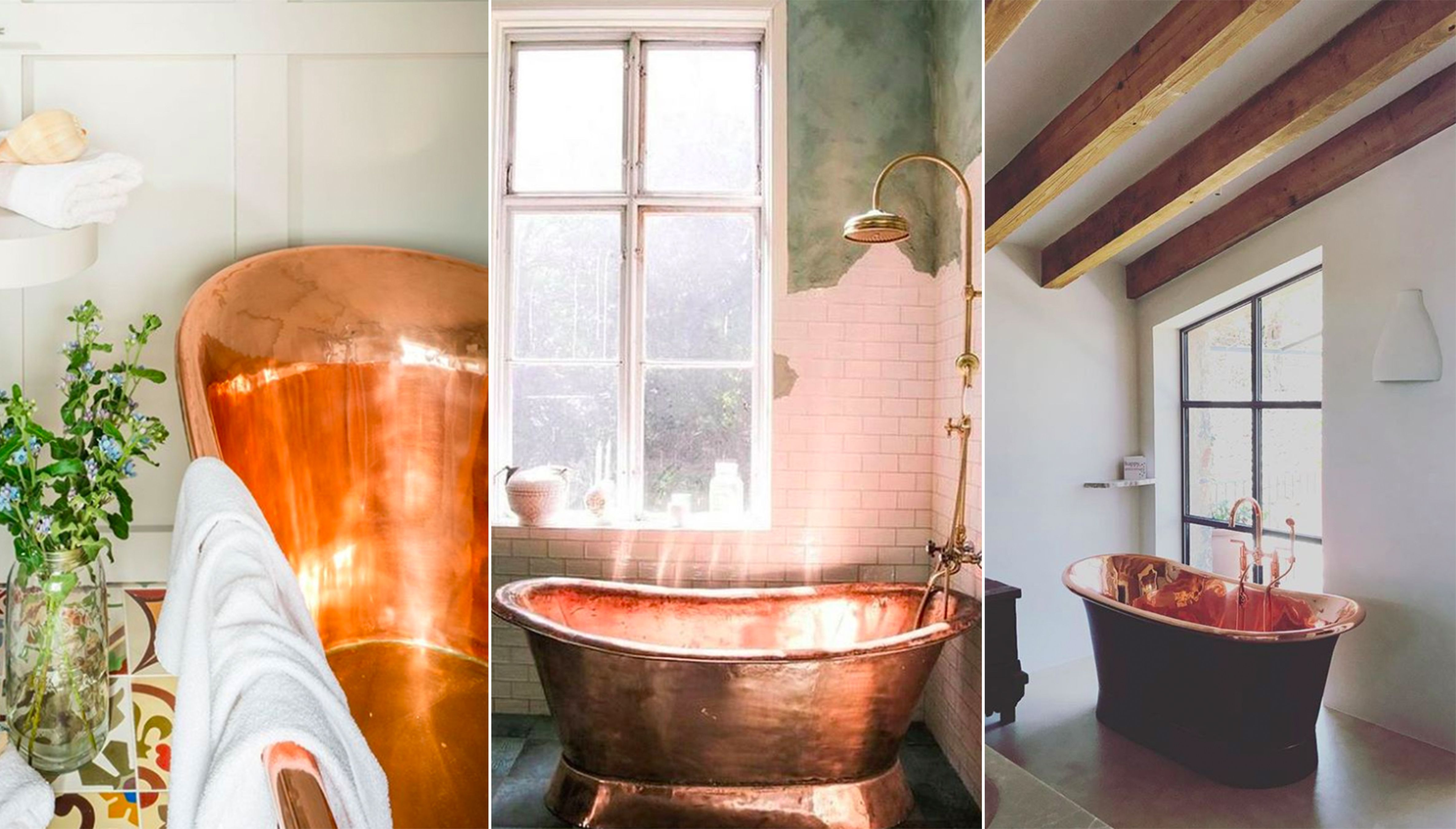 10 Copper Bathtubs For The Most Luxurious Soak   Copper Bathtubs Are The  Statement Piece Your Bathroom Needs