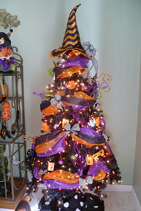 15 Halloween Tree Diy Decorations How To Make A