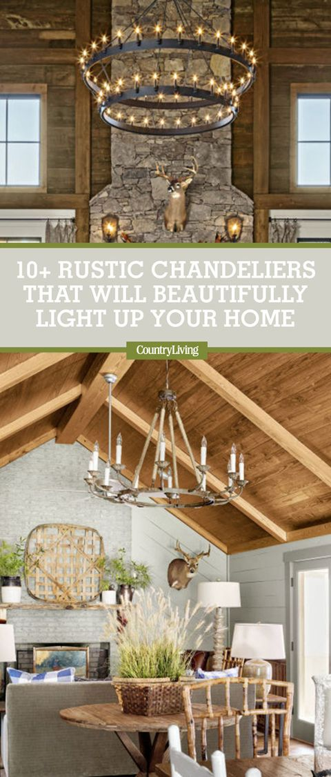 12 rustic chandelier ideas best country farmhouse chandeliers image aloadofball Gallery