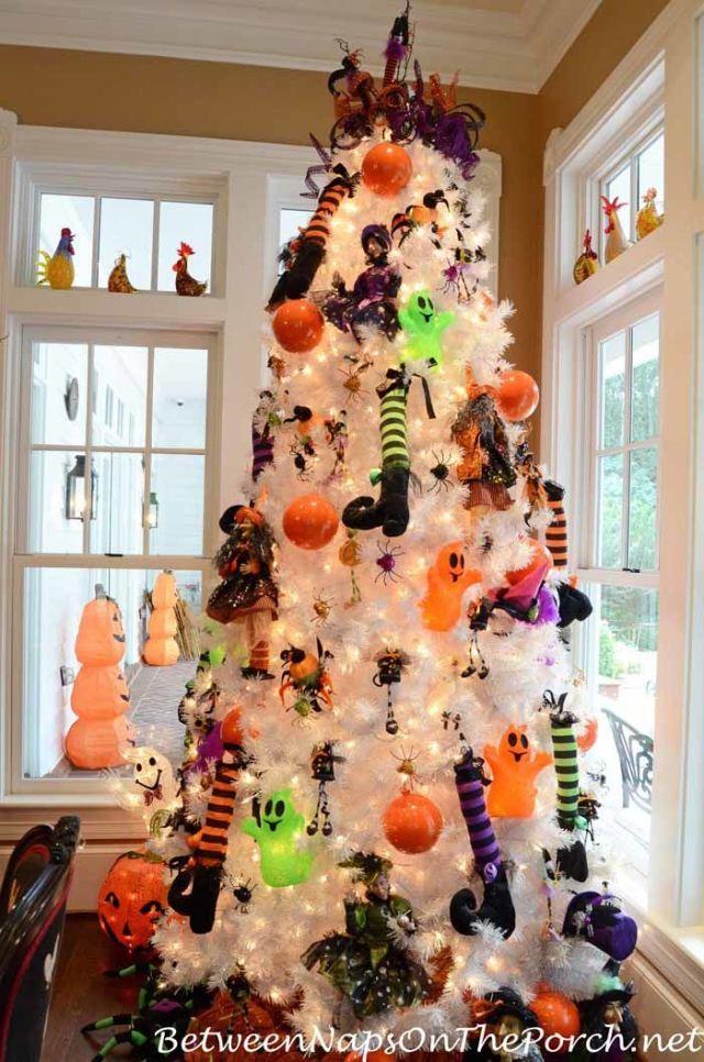 15 Halloween Tree DIY Decorations , How to Make a Halloween