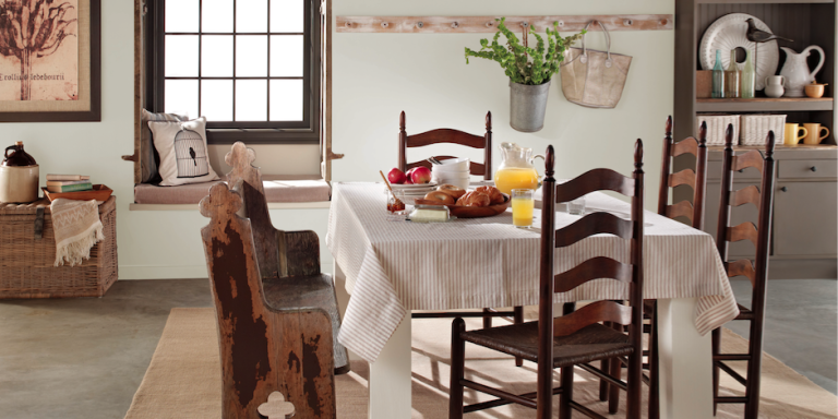 All The Prettiest Paint Colors Fit For A Farmhouse In Fall Courtesy Of Behr