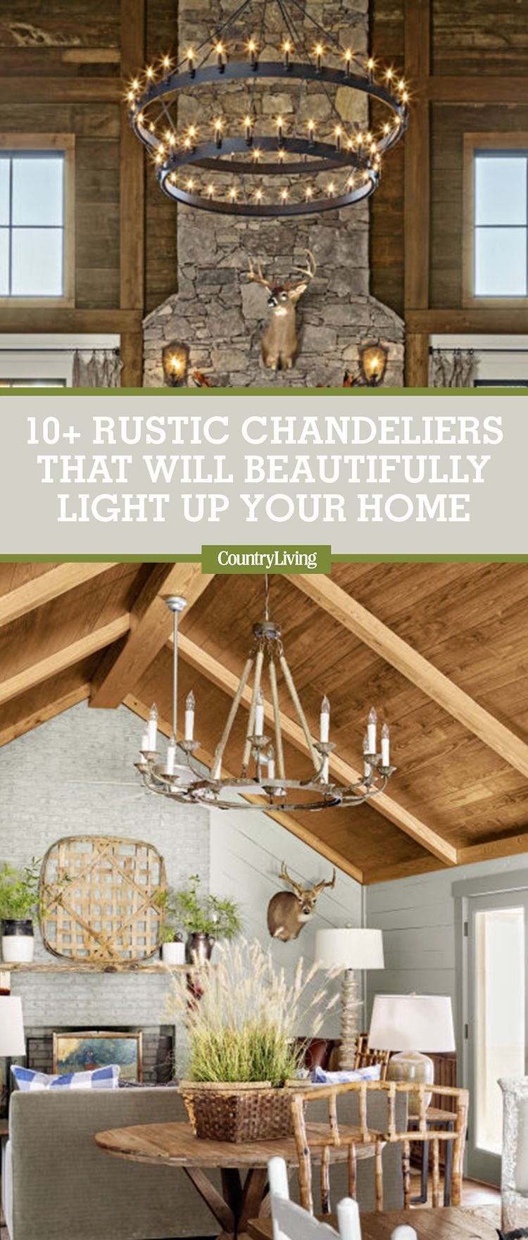 12 rustic chandelier ideas best country farmhouse chandeliers arubaitofo Images