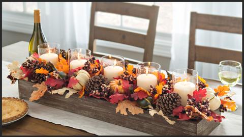 Orange, Centrepiece, Table, Lighting, Brunch, Room, Interior design, Leaf, Food, Flower,