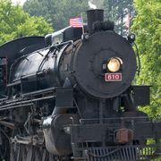 Steam engine, Transport, Locomotive, Train, Rolling stock, Mode of transport, Vehicle, Railway, Track, Railroad car,