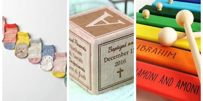 14 baby baptism gift ideas for boys and girls unique christening these are sure to please both baby and mom alike negle Gallery
