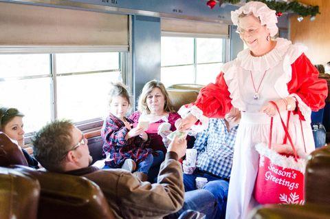 polar express train ride texas