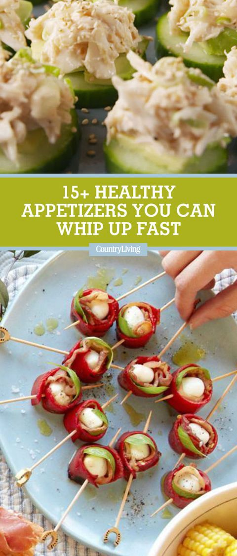 15 Easy Healthy Appetizers