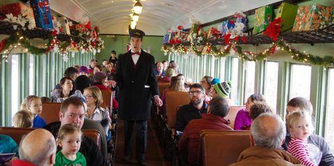 polar express train ride vermont