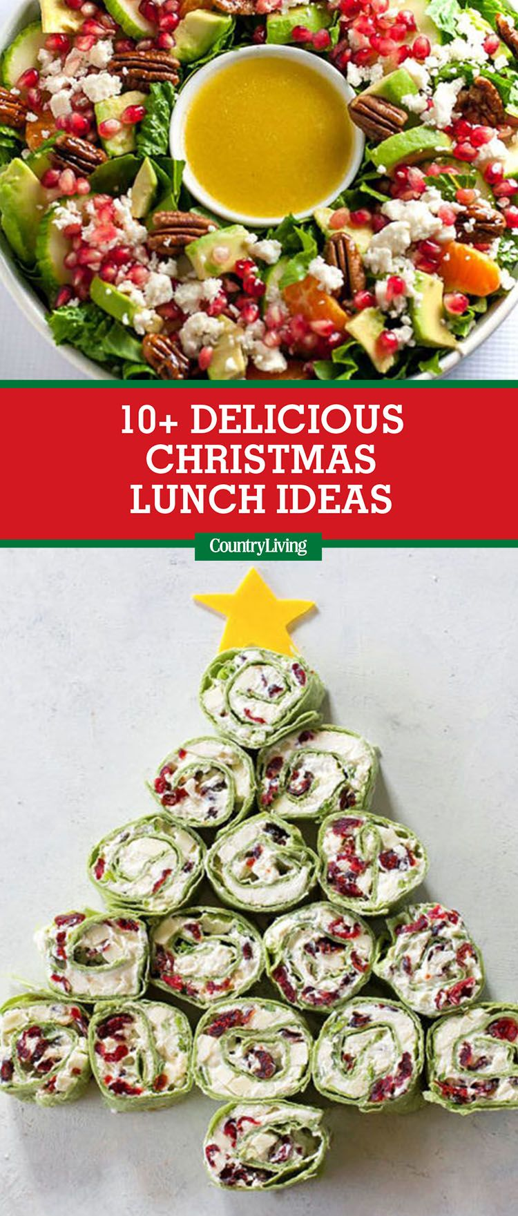 10 Easy Christmas Lunch Ideas