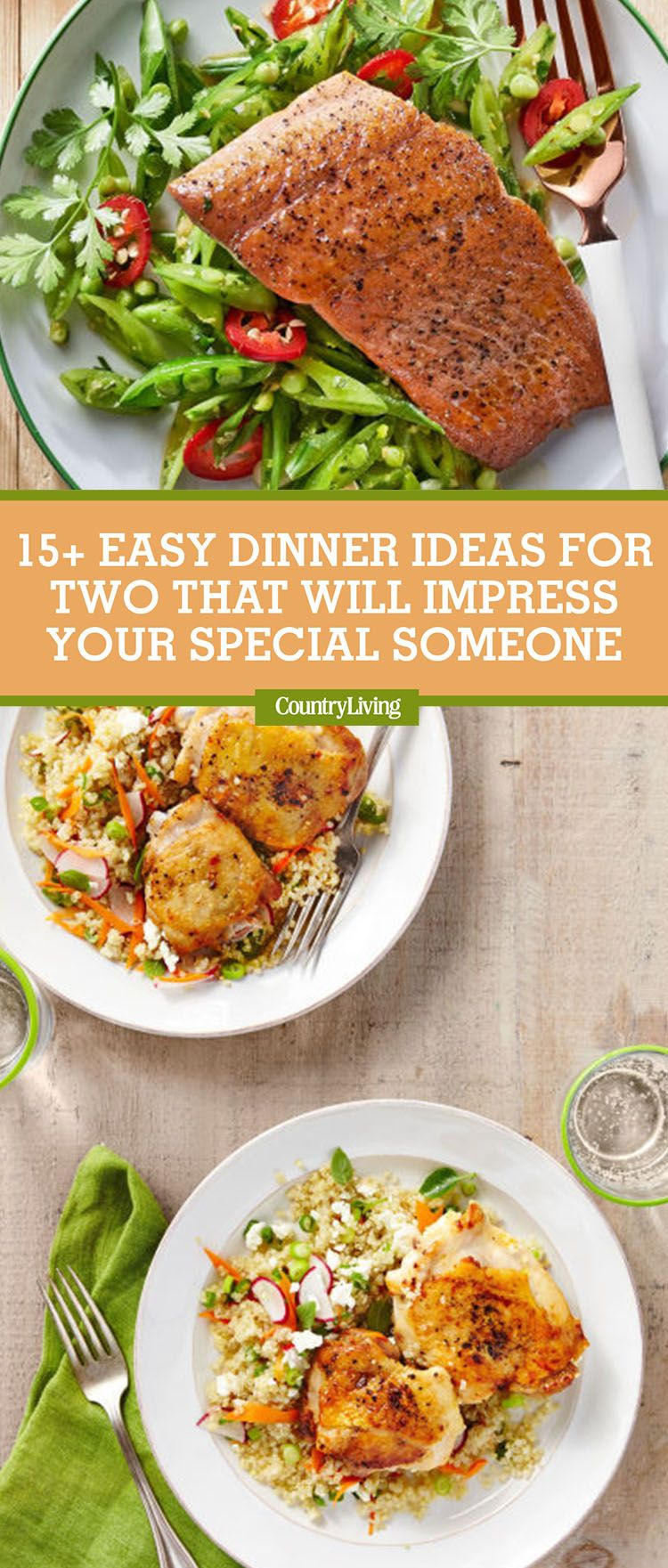 17 easy dinner ideas for two romantic dinner for two recipes forumfinder Images