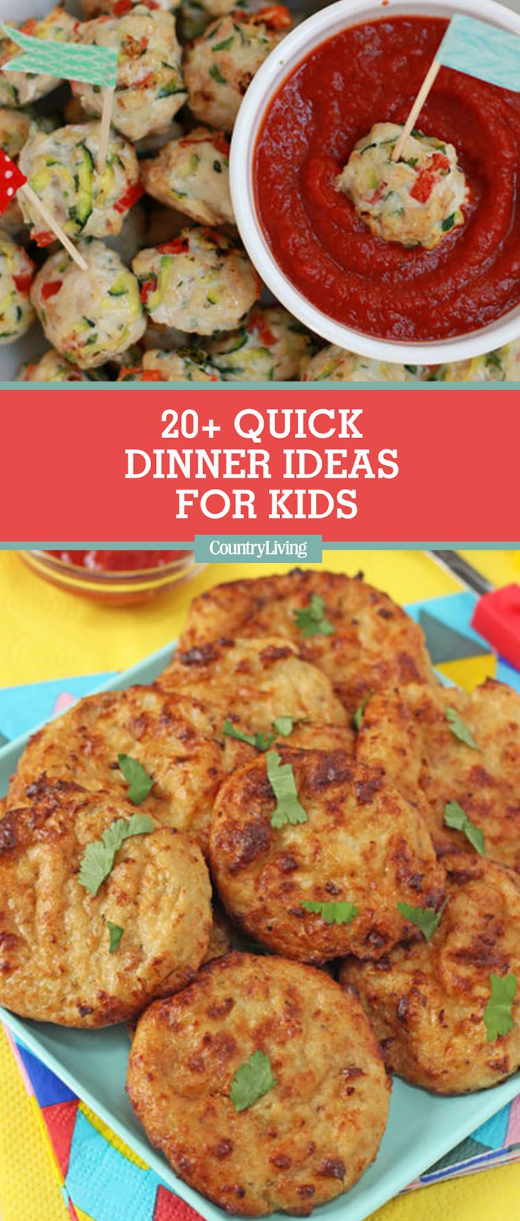20 easy dinner ideas for kids quick kid friendly dinner recipes forumfinder Image collections