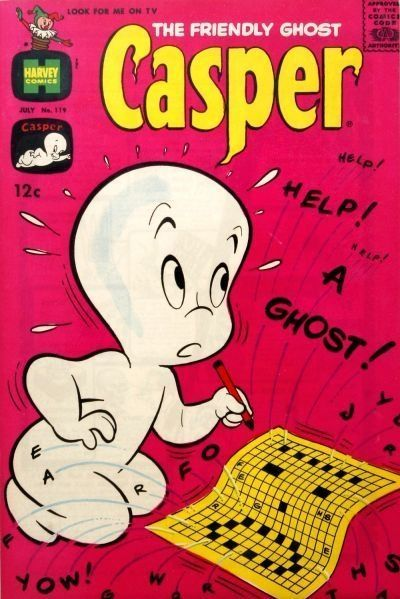 <p>Boo! Thanks to successful books and a cartoon, Casper the Friendly Ghost made many trick-or-treat appearances in 1968. </p>