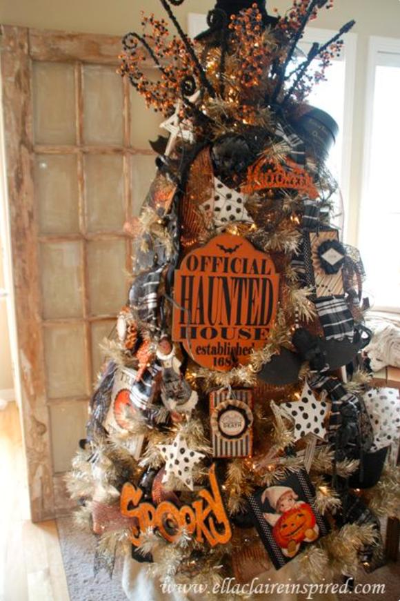 Halloween Christmas Trees , Why Are Halloween Christmas