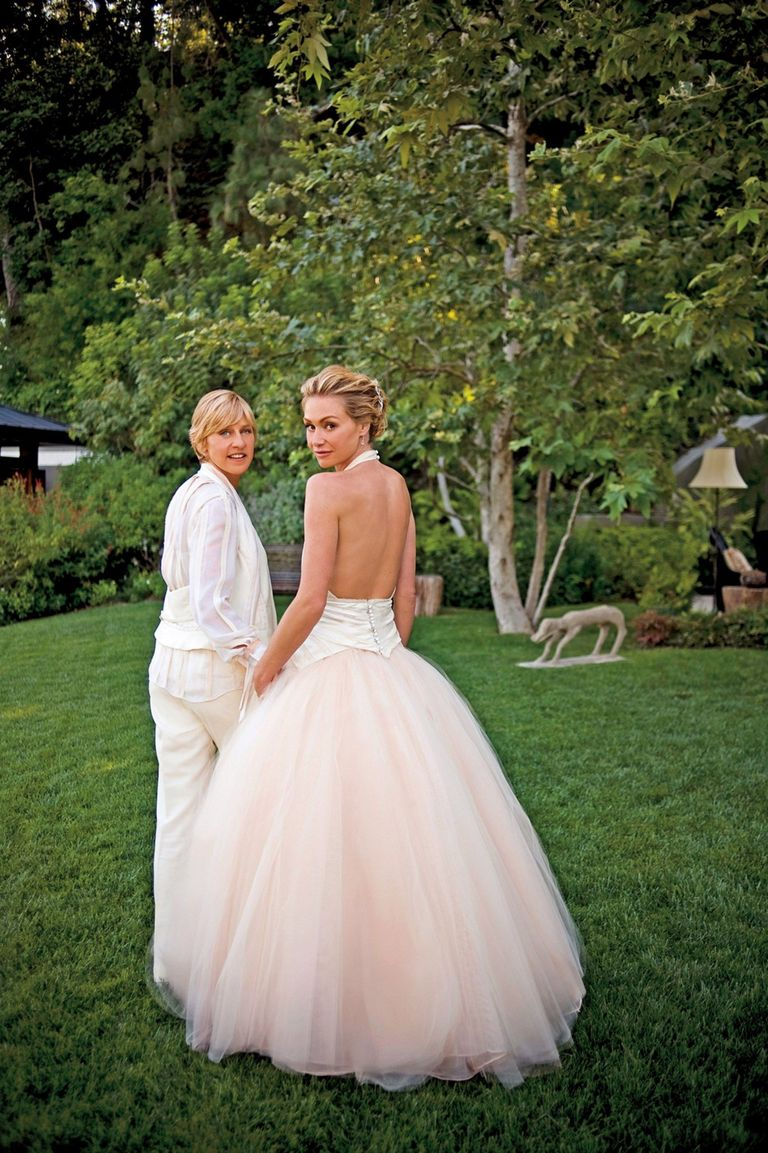 Lara Porzak Photography Via Getty Images Today Ellen Degeneres And Portia De Rossi