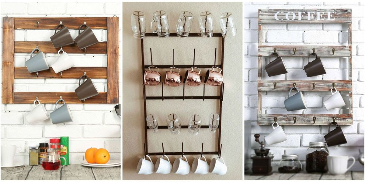The best mug racks where to buy coffee mug racks for Mug racks ideas