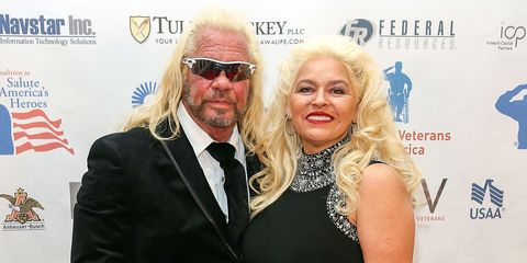 """Duane and Beth Chapman from """"Dog the Bounty Hunter"""""""