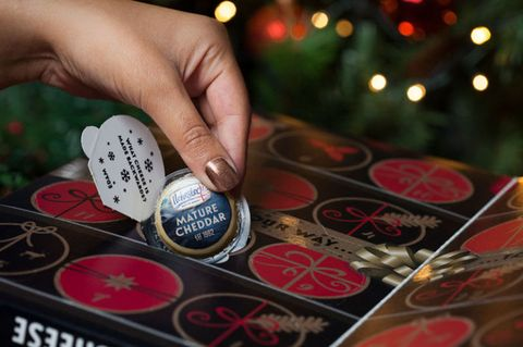 Aldi Cheese Advent Calendar.New Cheese Advent Calendar From Asda Is The Most Delicious Way To