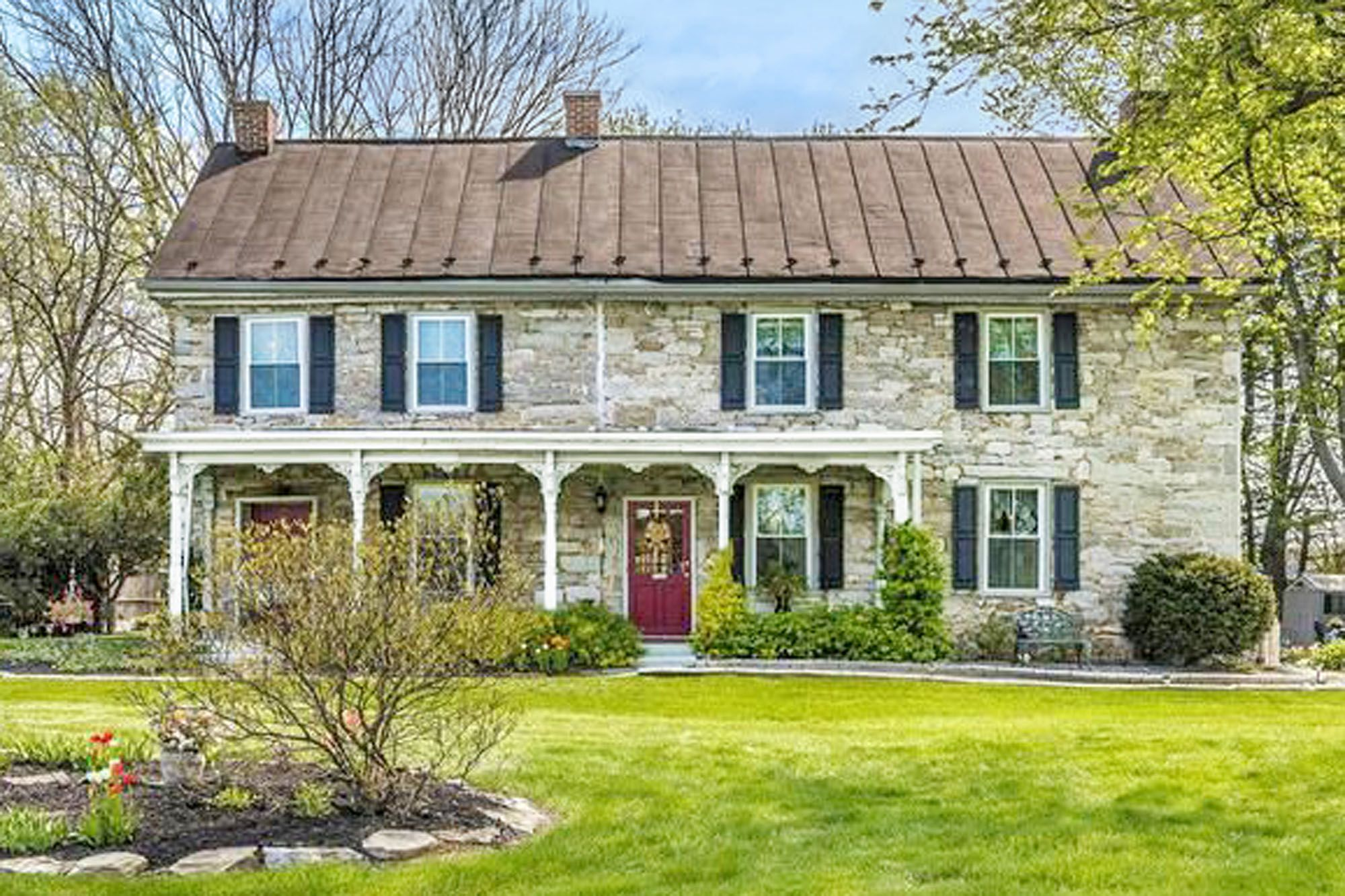 Stately Stone Homes For Sale