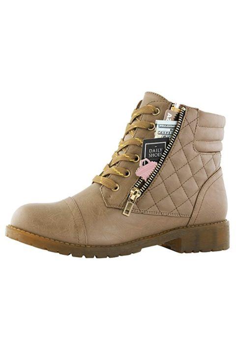 Footwear, Shoe, Beige, Boot, Brown, Hiking boot, Khaki, Sneakers, Outdoor shoe, Steel-toe boot,