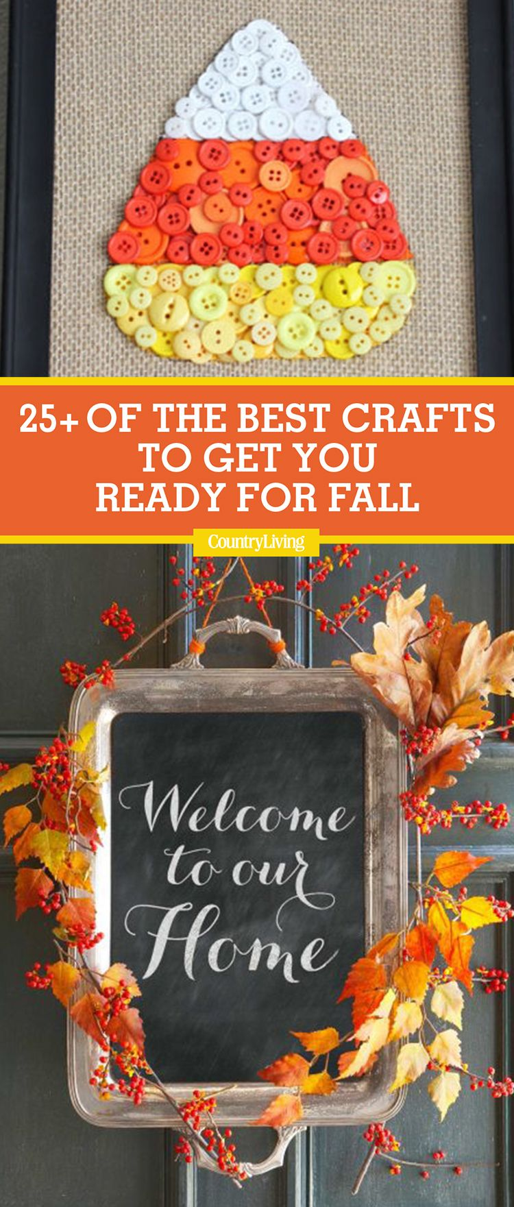 25 best fall crafts easy diy home decor ideas for fall - Fall Crafts